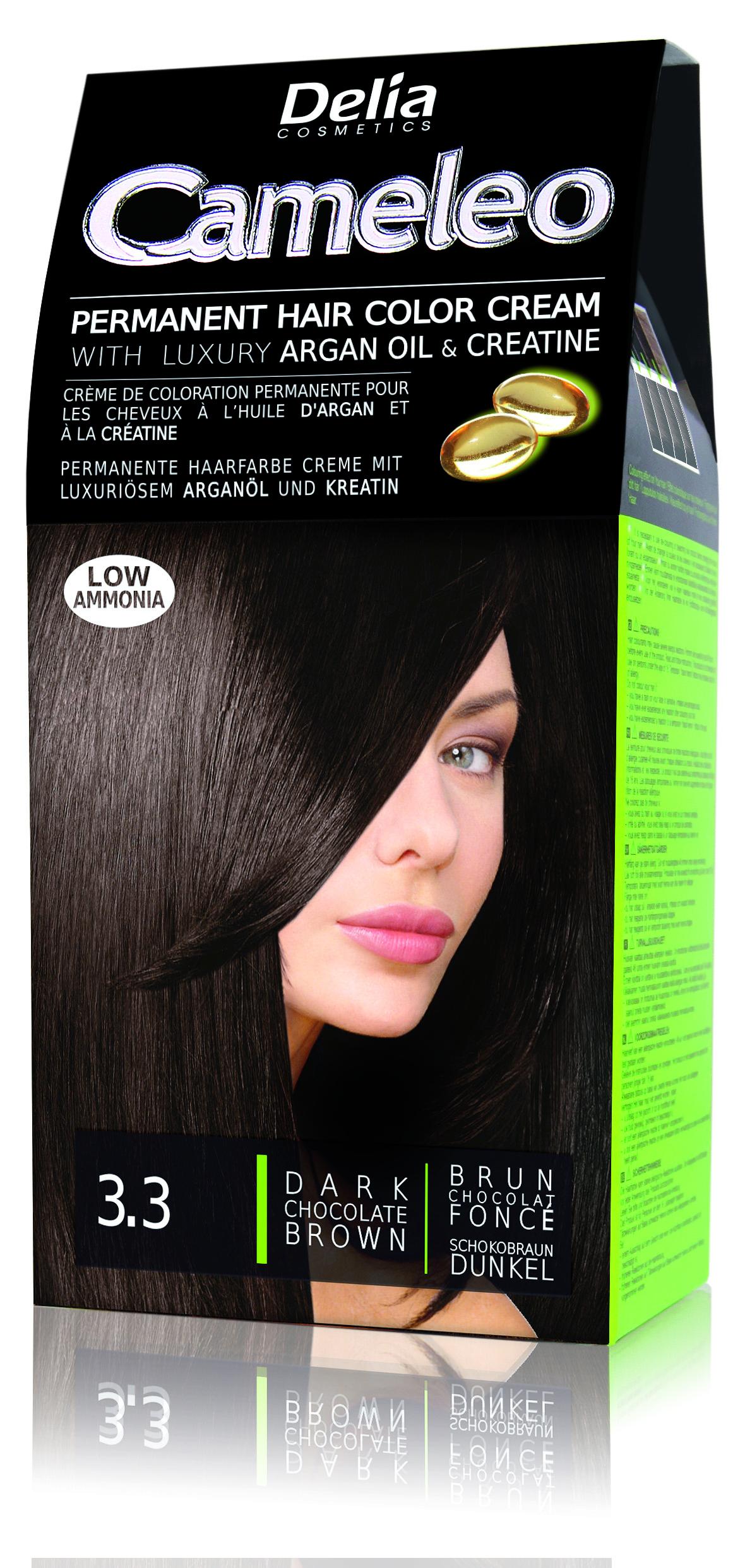 CAMELEO barva na vlasy 3.3 čokoládově hnědá