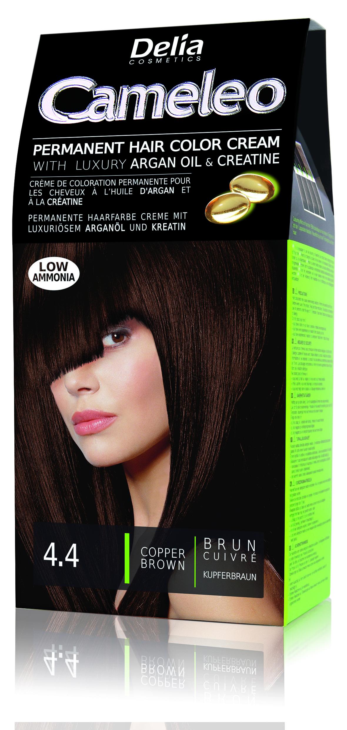 CAMELEO barva na vlasy 4.4 hnědá