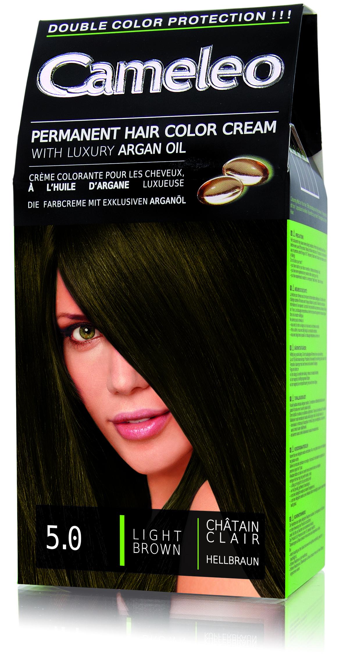 CAMELEO barva na vlasy 5.0 světle hnědá