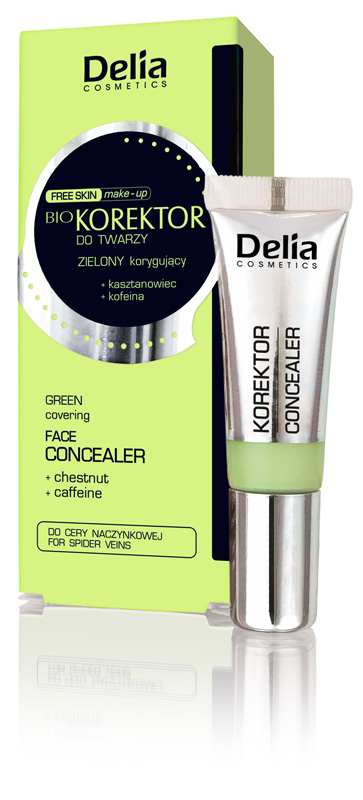 Delia Free Skin BIO korektor zelený 10ml