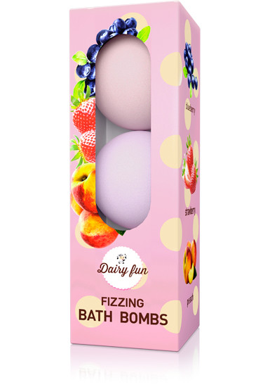 DELIA Rozpustné kuličky do koupele jahoda, borůvka, broskev 3x100 g