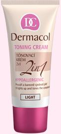 Dermacol Toning Cream 2in1 tónovací krém - Natural 30 ml