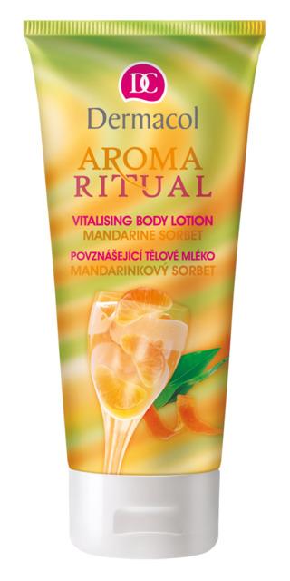 Dermacol Aroma Ritual Tělové mléko mandarinka povznášející 200 ml