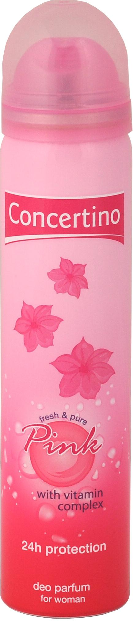 Concertino Deo sprej dámský 75 ml - Pink