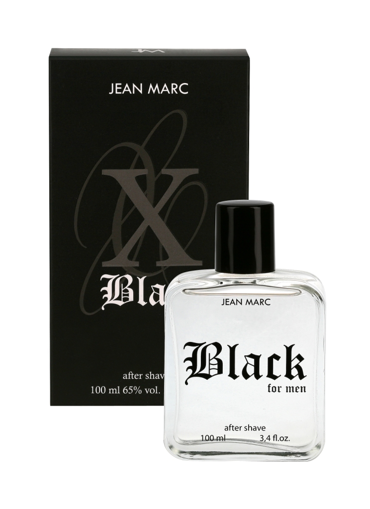 Jean Marc X Black voda po holení 100 ml