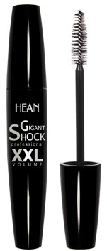 Hean Zhušťující a prodlužující řasenka Gigant Shock XXL černá 12ml