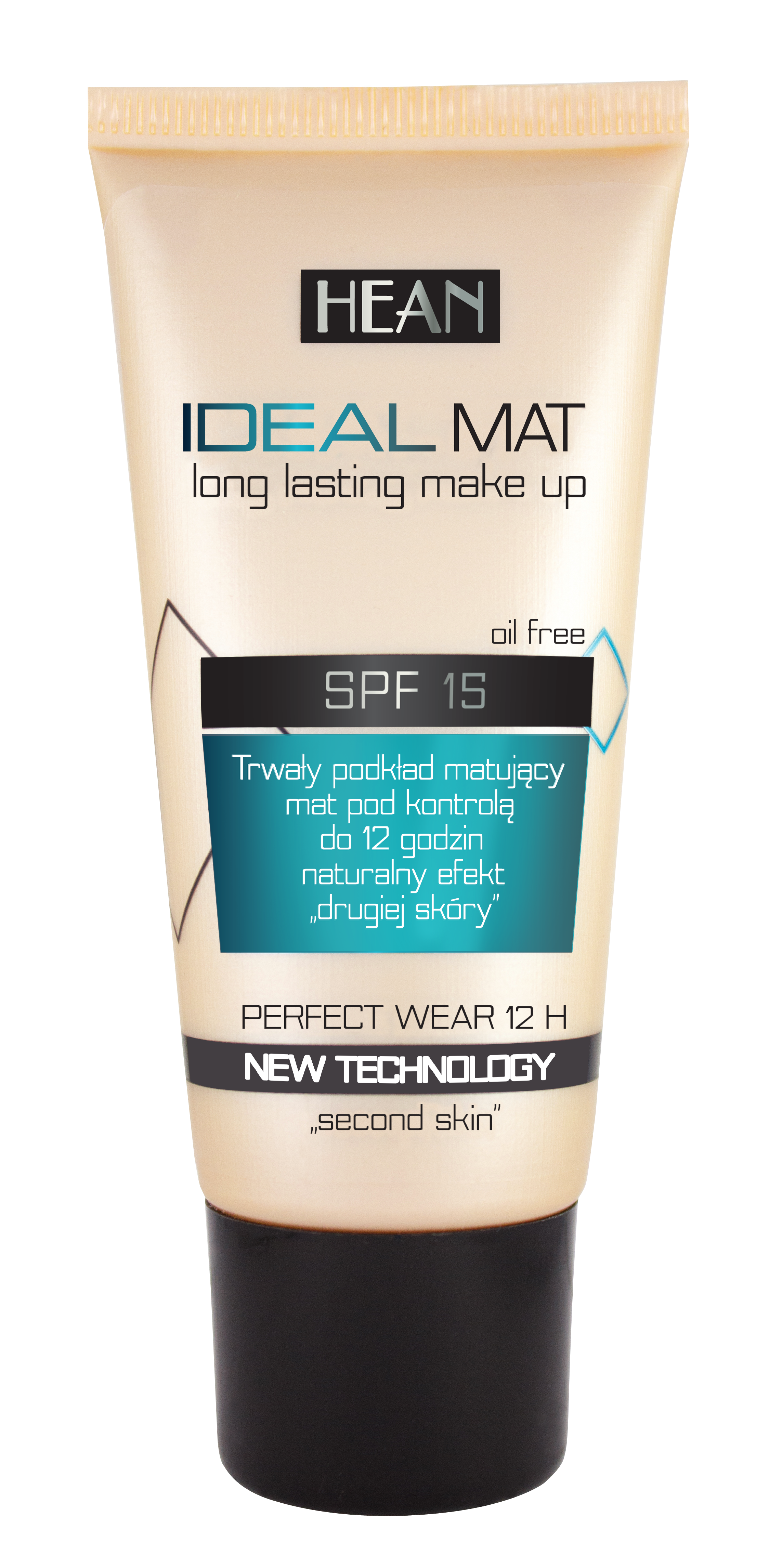 Hean Make-up Ideal Mat silně krycí a matující č.407 Natural 30ml