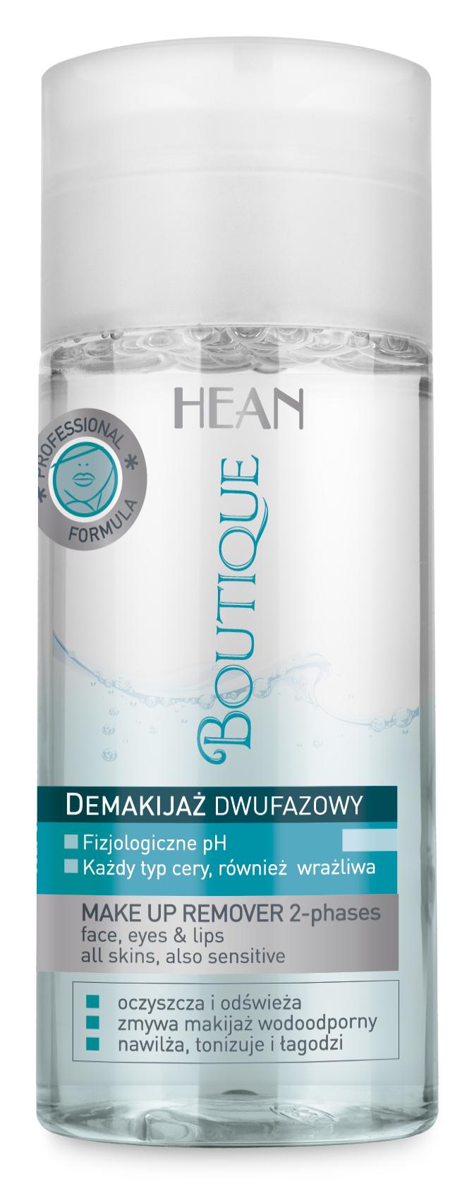 Hean Boutique Dvoufázový odličovač na tvář, oči a rty 200 ml