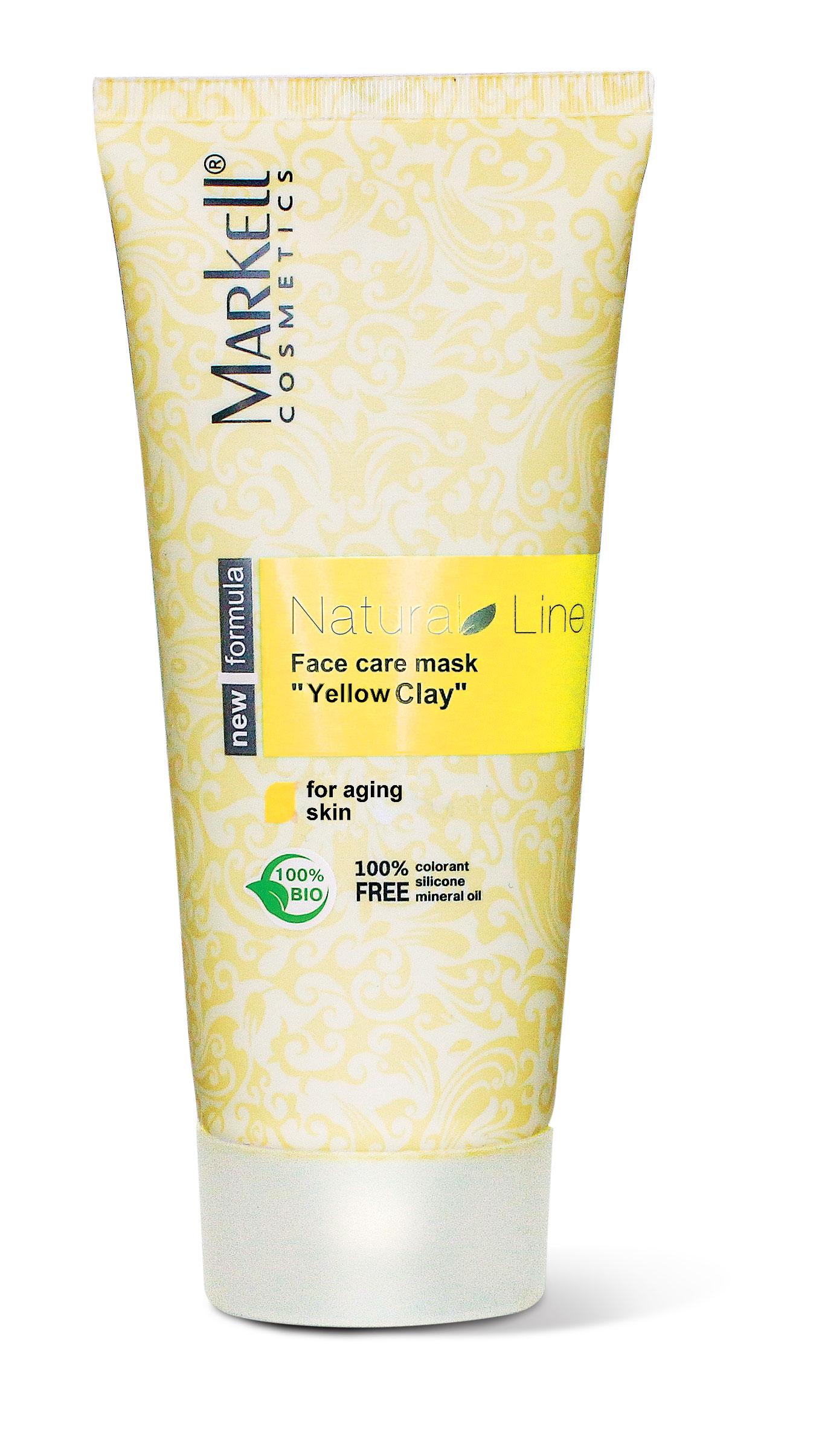 Markell Natural Line Slupovací maska na tvář 100 ml