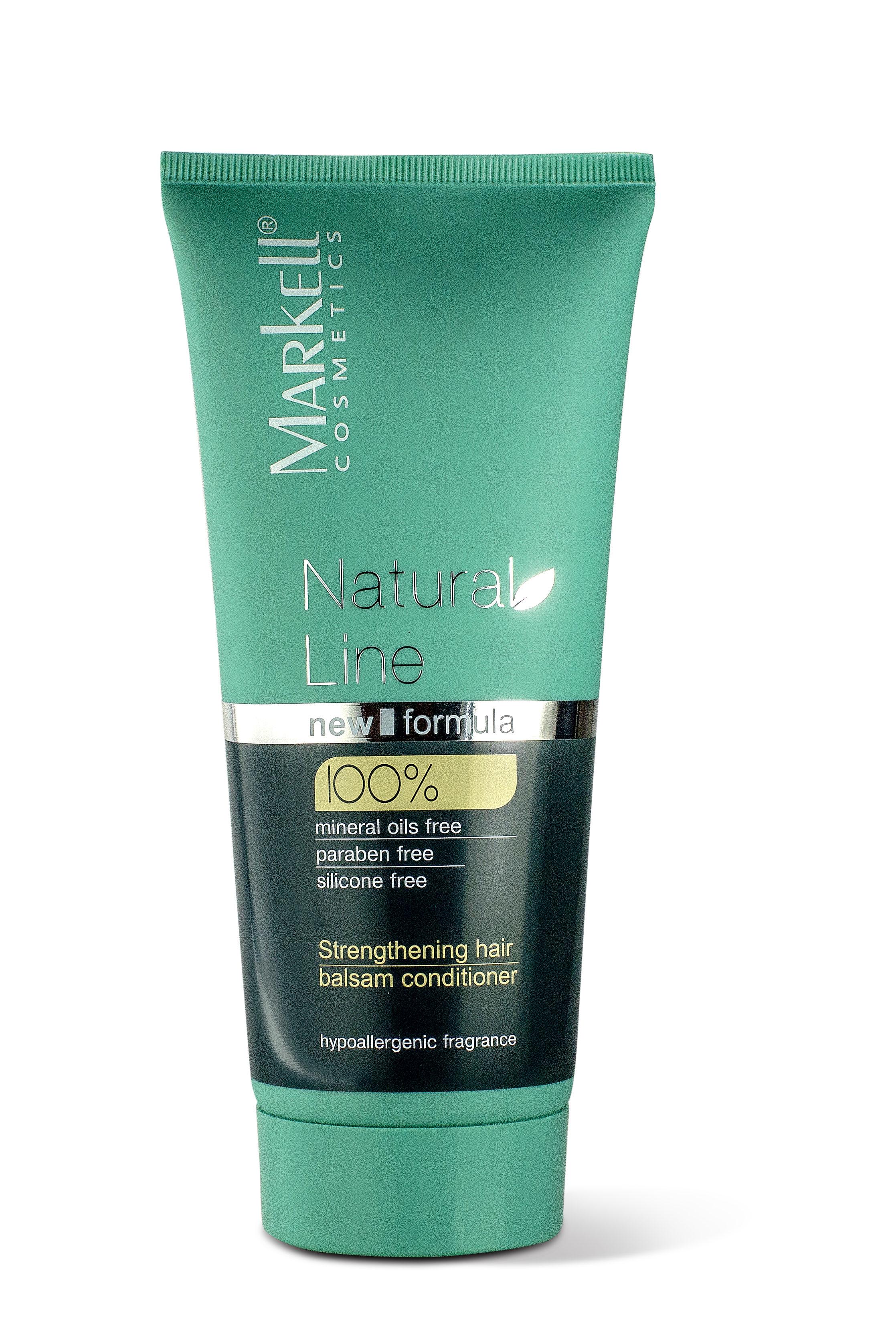 MARKELL Posilující balzám na vlasy Natural Line 200 ml