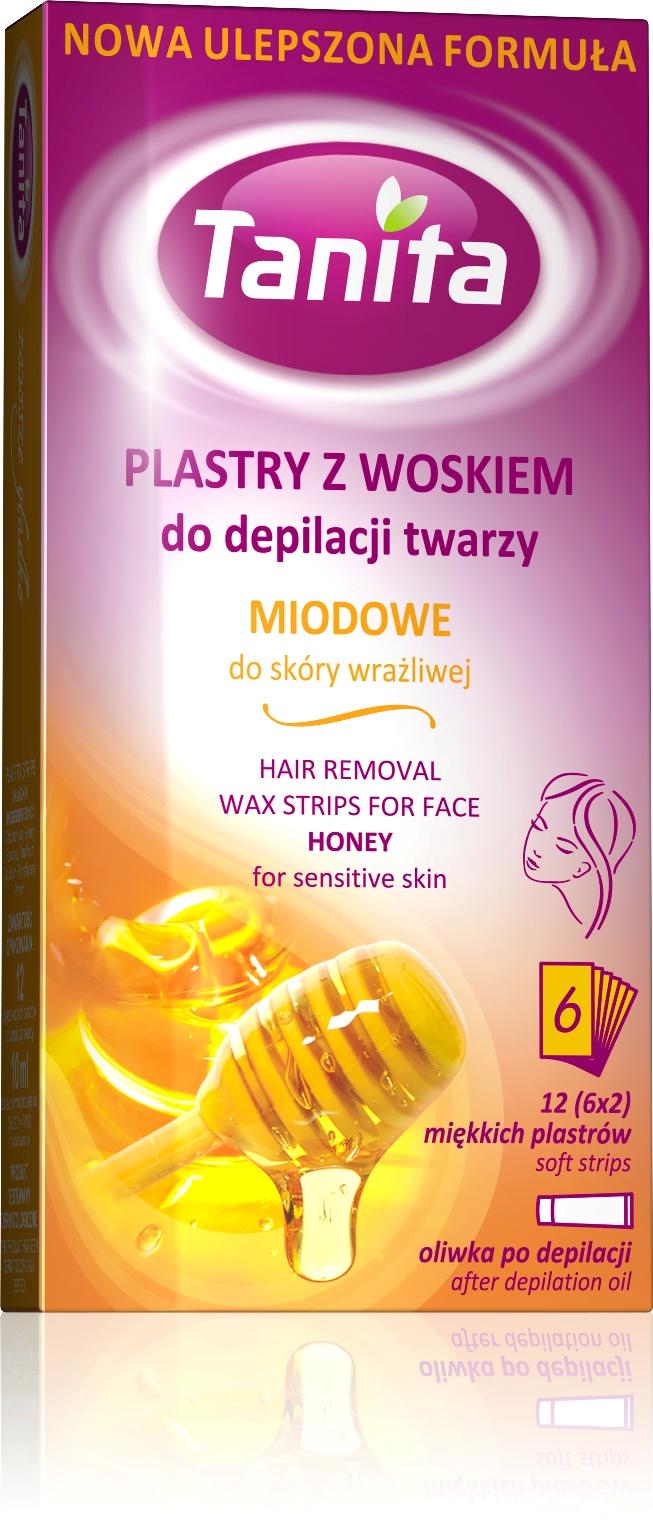 TANITA depilační náplast medová tvář 12ks
