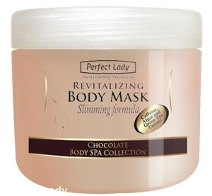 PERFECT LADY Čokoládová zeštíhlující a revitalizační maska na tělo 500ml