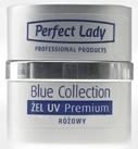 Premium UV Gel 30ml Pink až oranž středně hustý Perfect lady