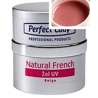 Natural French UV gel Beige kamufláž 10ml Perfect Lady