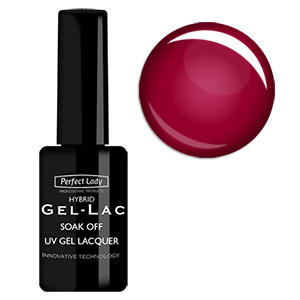 Gel-Lak Tmavě Červený 15ml Perfect Lady/ Crimson Tide