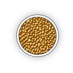 Perličky na zdobení nehtů zlaté 3462 Top Choice