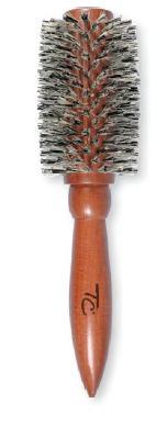 Top Choice Kartáč na vlasy 62773 tvarovací dřevěný nejsilnější