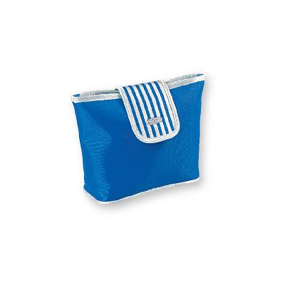 Kosmetická taška modrá 91216