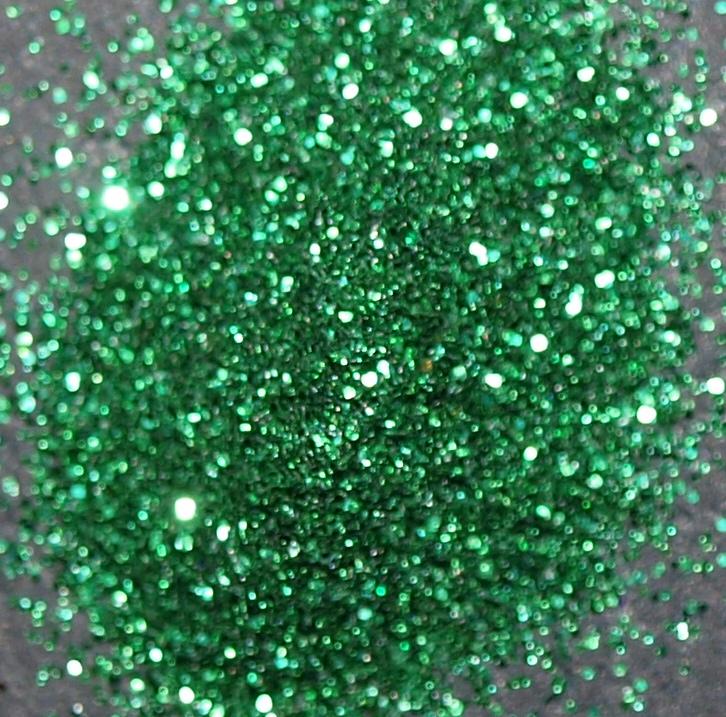 Prach body&nails tmavě zelená MINI kelímek