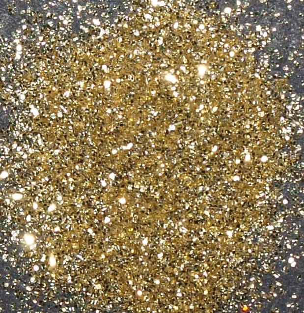 Prach body&nails světle zlatá MINI kelímek