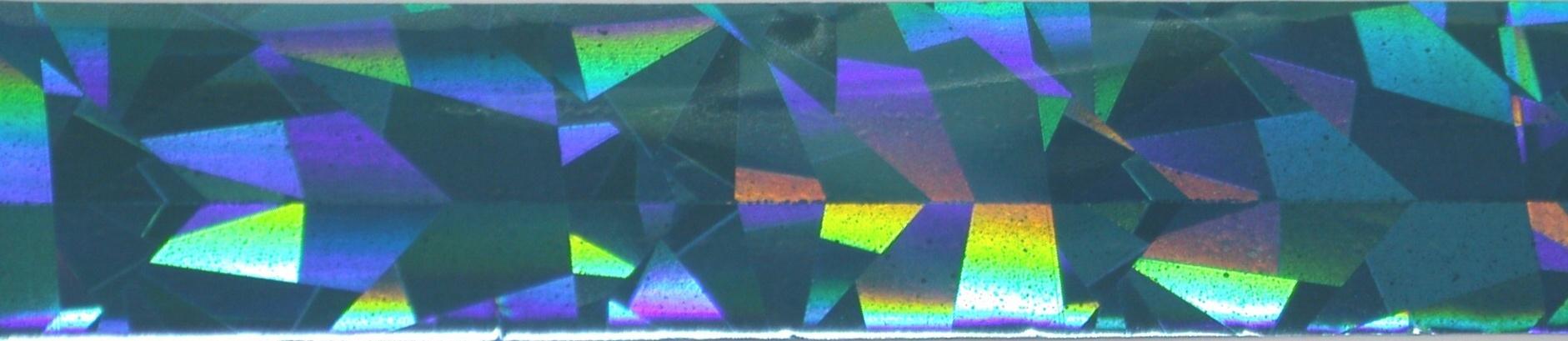 Vivi Folie na nehty jehlan tyrkysová 50 cm