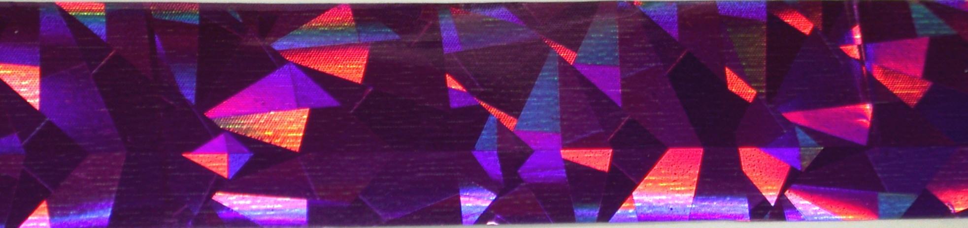Vivi Folie na nehty jehlan fialová 50 cm