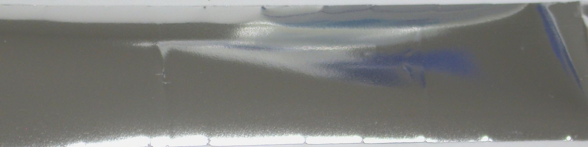 VIVI Folie na nehty hladká stříbrná 50 cm