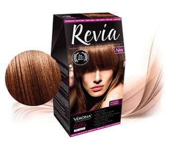 Revia 100% 3D barva na vlasy 10 lískový ořech