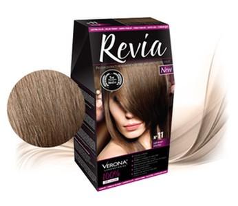 Revia 100% 3D barva na vlasy 11 světle hnědá