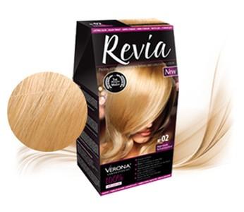 Revia 100% 3D barva na vlasy 02 světlá blond