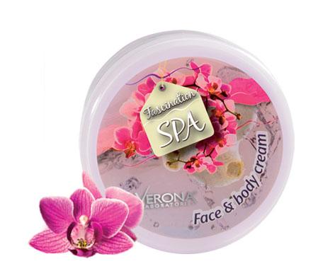 Krém na tvář a tělo orchidej SPA 250 ml Verona