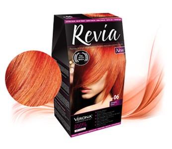 Revia 100% 3D barva na vlasy 06 mahagon