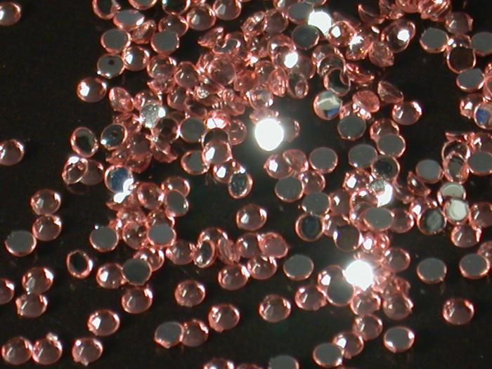 Kamínky na nehty kulaté světle růžová 1,75mm 40ks