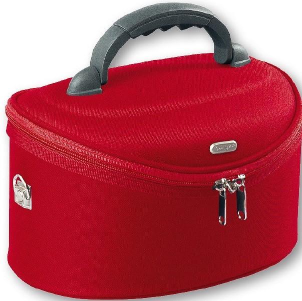 4cb3dc9d6 Top Choice Kosmetický kufřík červený 95085 32,5x22x19cm