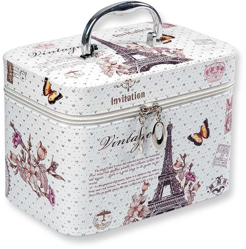acc6abe0c Top Choice Kosmetický kufřík Vintage M 21x13,5x14,5cm 97553